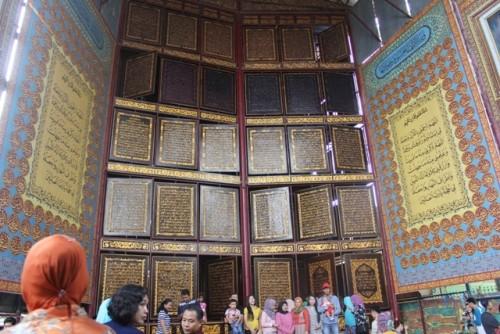 Objek Wisata Religi Alqur,an Akbar (Fhoto Istimewa)