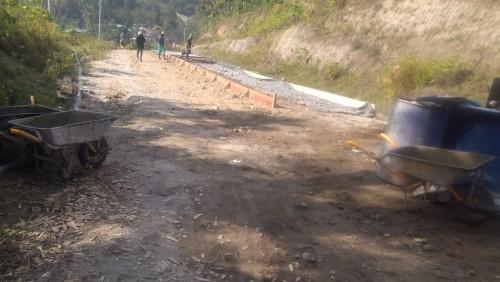 Warga Senang, Jalan Wisata Desa Way Wangi Dibangun