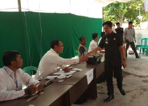 Kecamatan Warkuk Ranau Selatan Sukses Melaksanakan Pilkades Delapan Desa Secara Serentak