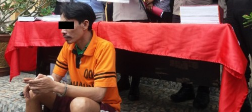 Mantan Kepala Desa Ulak Lebar Kecamatan Ulu Ogan, Kabupaten Ogan Komering Ulu (OKU), Zulfikri Umari, divonis 4 tahun penjara. (Foto: Ist)