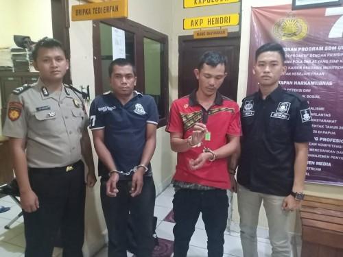 Jajaran Polsek Banding Agung Ciduk Dua Tesangka Pemilik Narkoba