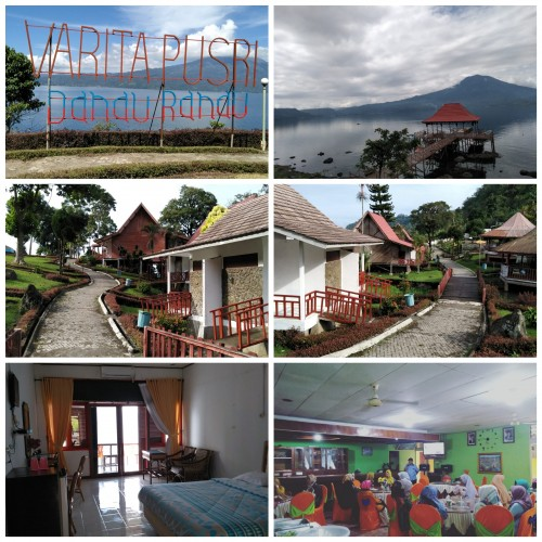 Tempat wisata Danau Ranau, selain indah pemandangannya juga menyediakan berbagai jasa penginapan. (Foto: Yogi)